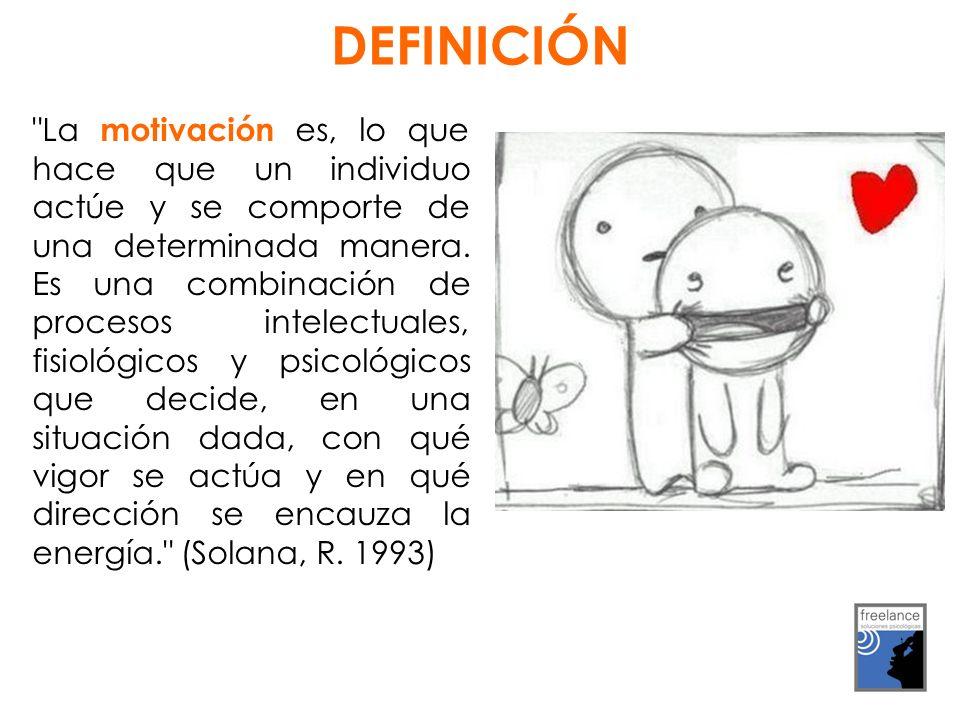 La motivación es, lo que hace que un individuo actúe y se comporte de una determinada manera.