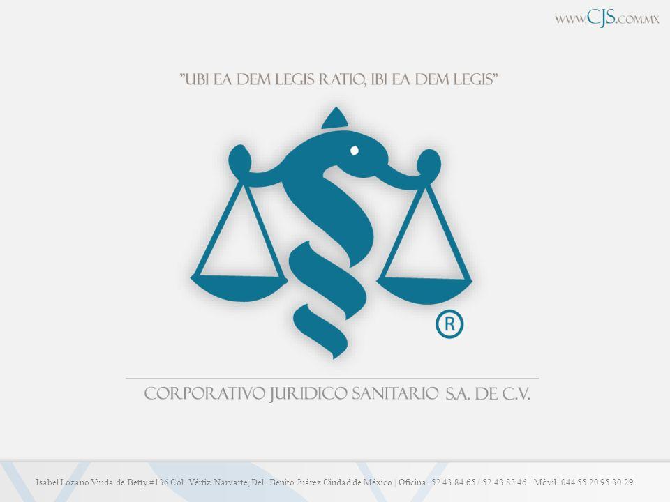 REGIMEN JURIDICO DE LA DISPOSICION DEL CUERPO HUMANO Corporativo Jurídico Sanitario S.A.