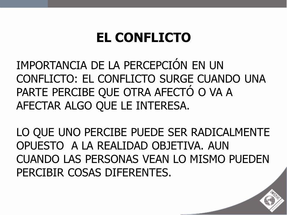 EL CONFLICTO (POTENCIAL O LATENTE) I.OPOSICIÓN O INCOMPATIBILIDAD POTENCIAL B) ESTRUCTURA: (VARIABLES ESTRUCTURALES) - CLARIDAD JURISDICCIONAL (FUNCIONES Y RESPONSABILIDADES) - COMPATIBILIDAD MIEMBRO – META (METAS DIFERENTES Y OPUESTAS) - ESTILOS DE LIDERAZGO (ESTILO CERRADO O MUY ABIERTO) - SISTEMAS DE RECOMPENSA (UN GRUPO O INDIVIDUO GANA A EXPENSAS DE OTRO) - GRADO DE DEPENDENCIA (PARA LOGRAR OBJETIVOS LAS PERSONAS DEPENDEN DE OTRAS)
