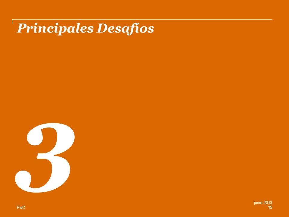 PwC Principales Desafíos 3 15 junio 2013