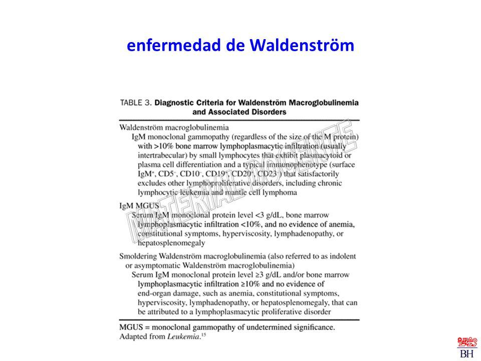 enfermedad de Waldenström