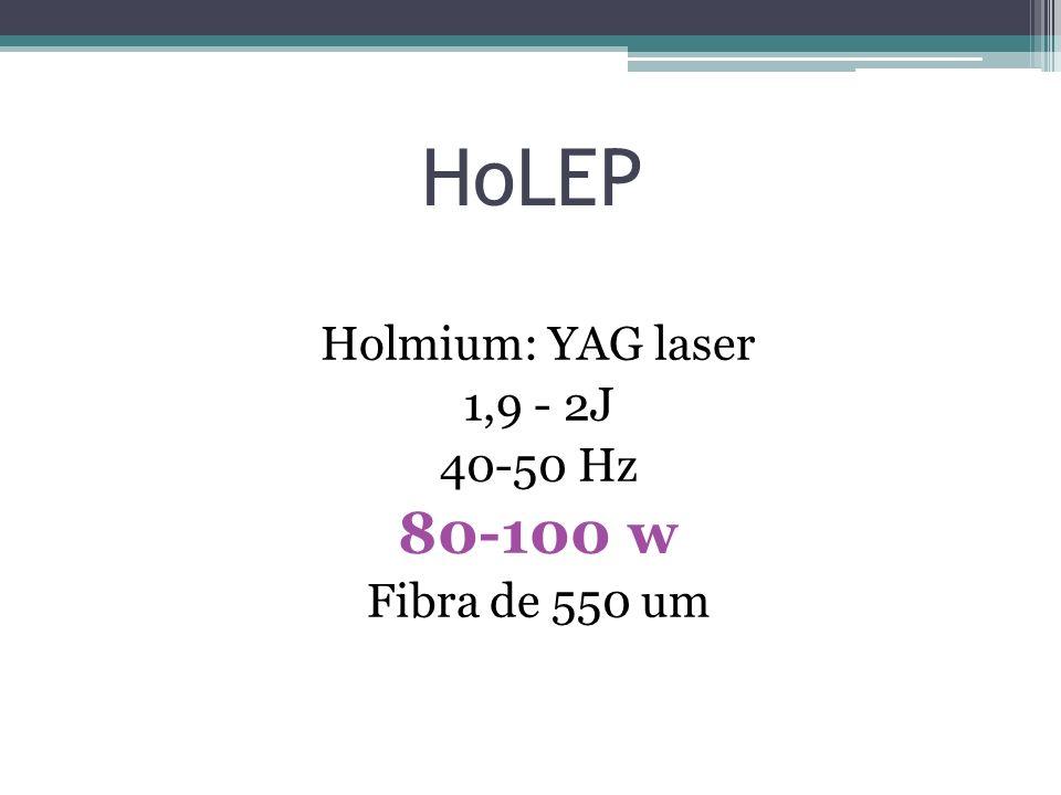 HoLEP vs Adenomectomía. Complicaciones 5 años Kuntz et al. Eur Urol 2008;53:160–8.