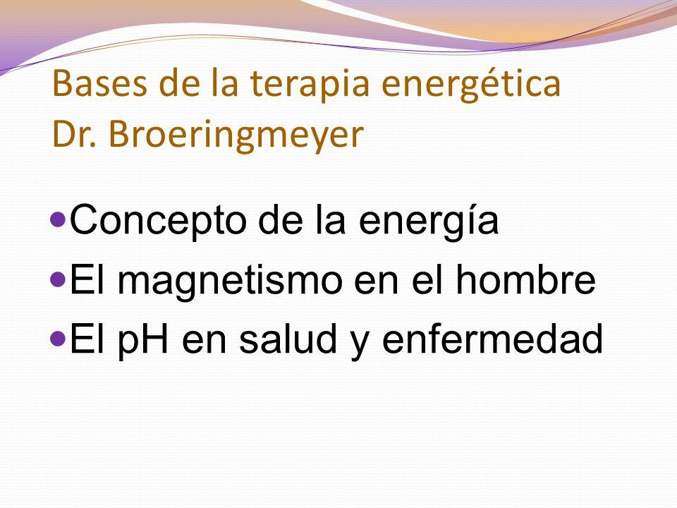 Bases de la terapia energética Dr.