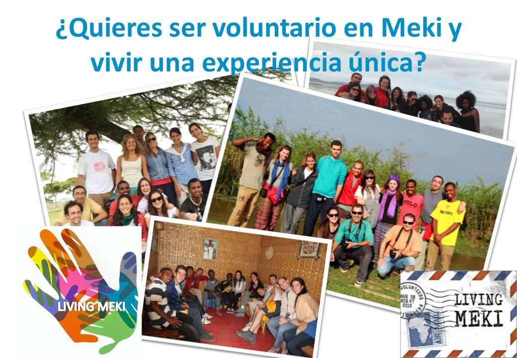 ¿Quieres ser voluntario en Meki y vivir una experiencia única