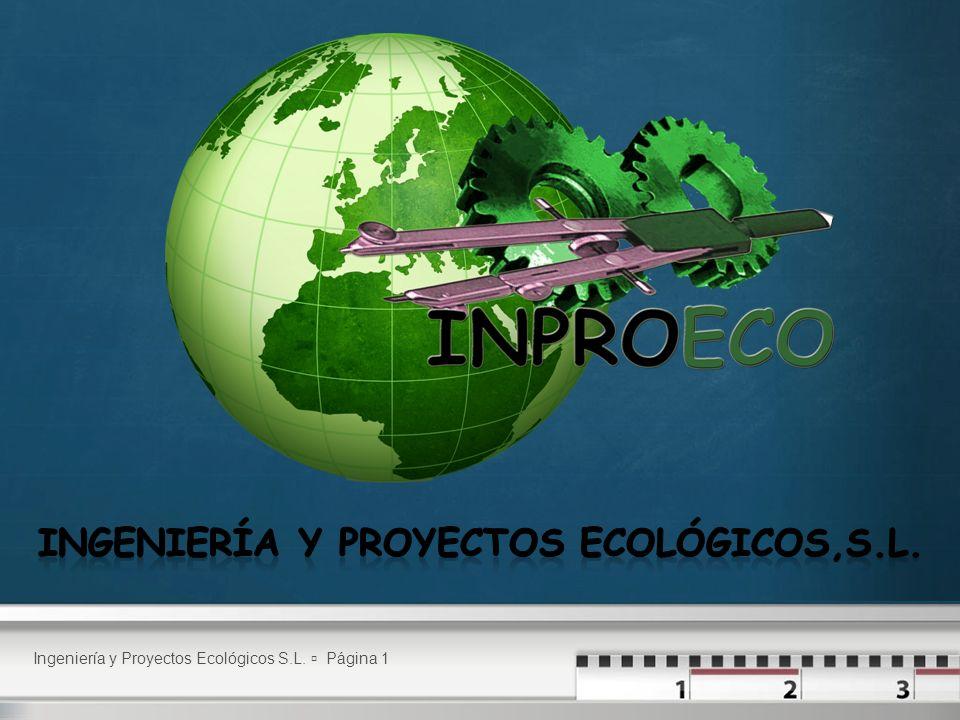 Ingeniería y Proyectos Ecológicos S.L. Página 1