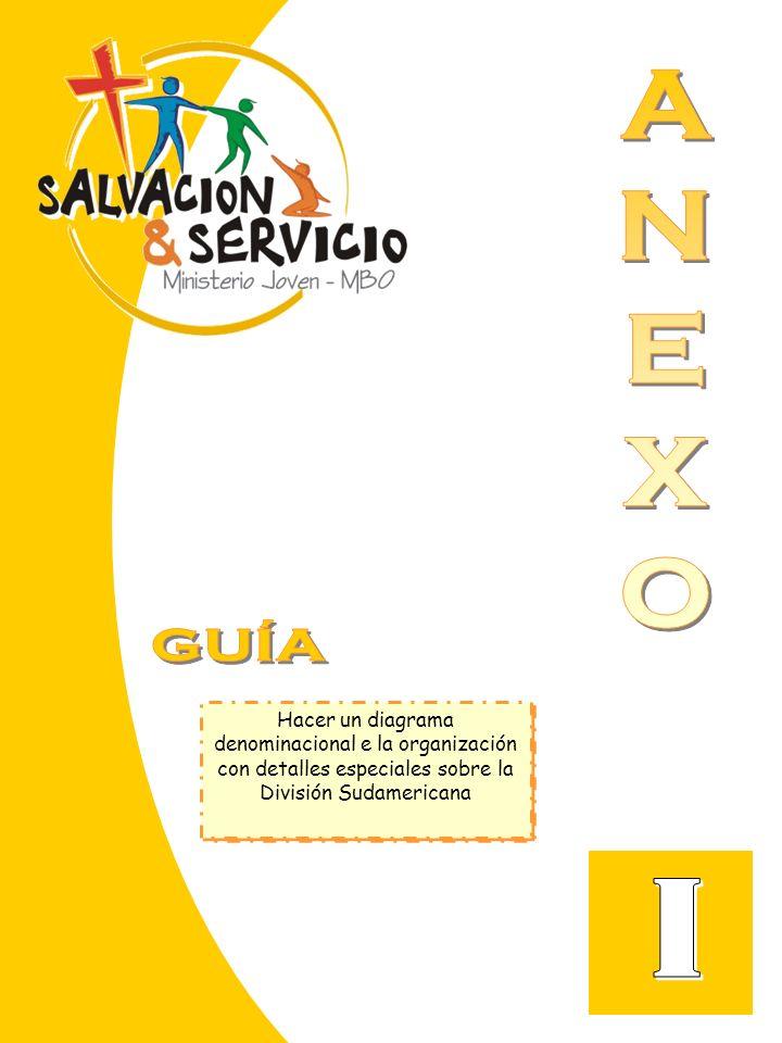 Hacer un diagrama denominacional e la organización con detalles especiales sobre la División Sudamericana