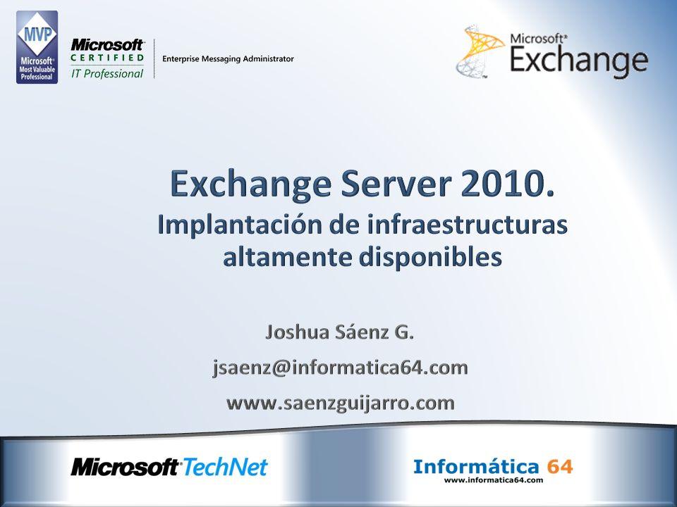 Informática 64 http://www.informatica64.com i64@informatica64.com +34 91 665 99 98 Joshua Sáenz G.