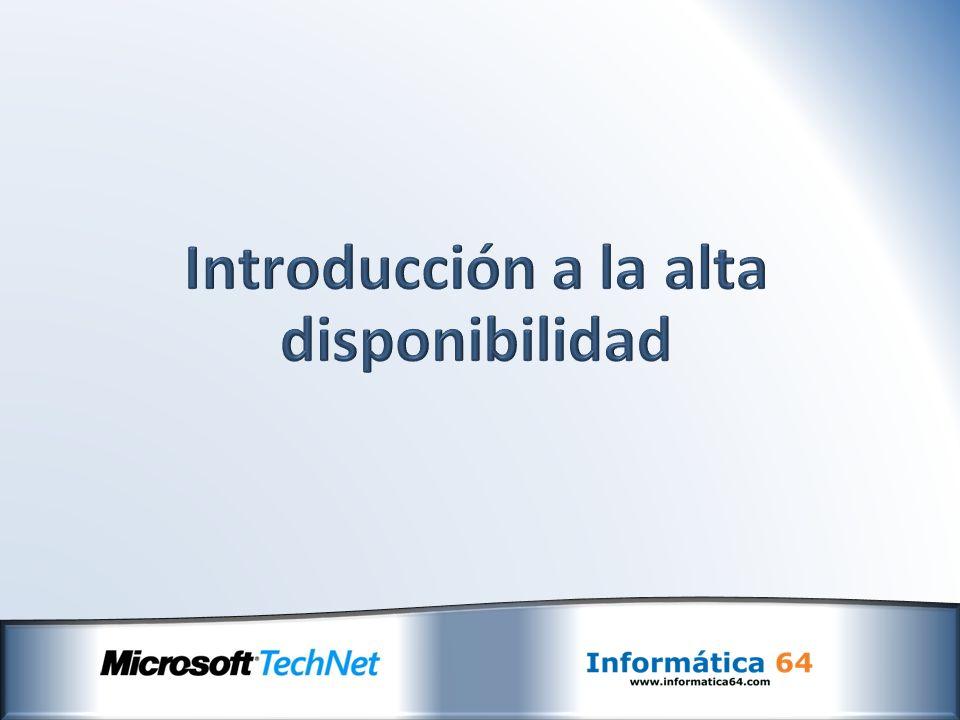 Exchange Server 2010 integra tecnología de alta disponibilidad en su propia arquitectura, utilizando una plataforma unificada.
