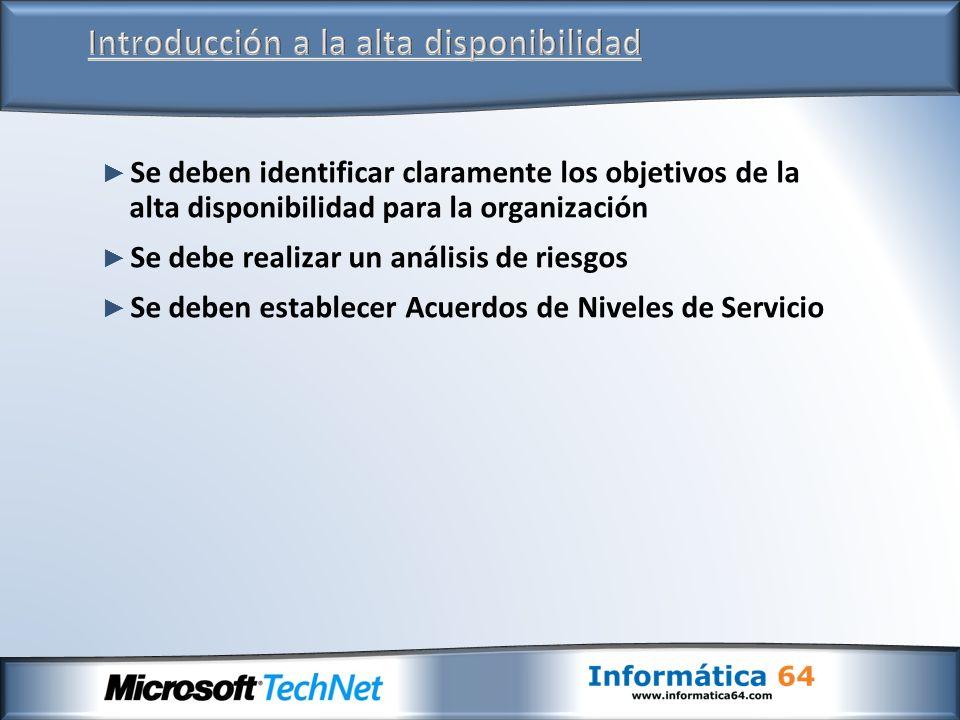 Datos críticosUbicaciónMétodo de copia de seguridad Método de restauración Bases de datos de Exchange (buzones y carpetas públicas).