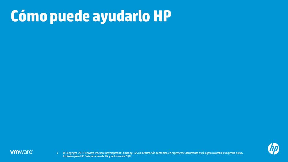 © Copyright 2013 Hewlett-Packard Development Company, L.P.