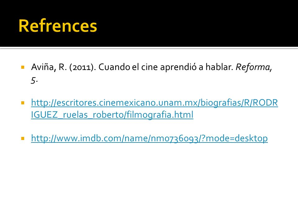 Aviña, R. (2011). Cuando el cine aprendió a hablar.