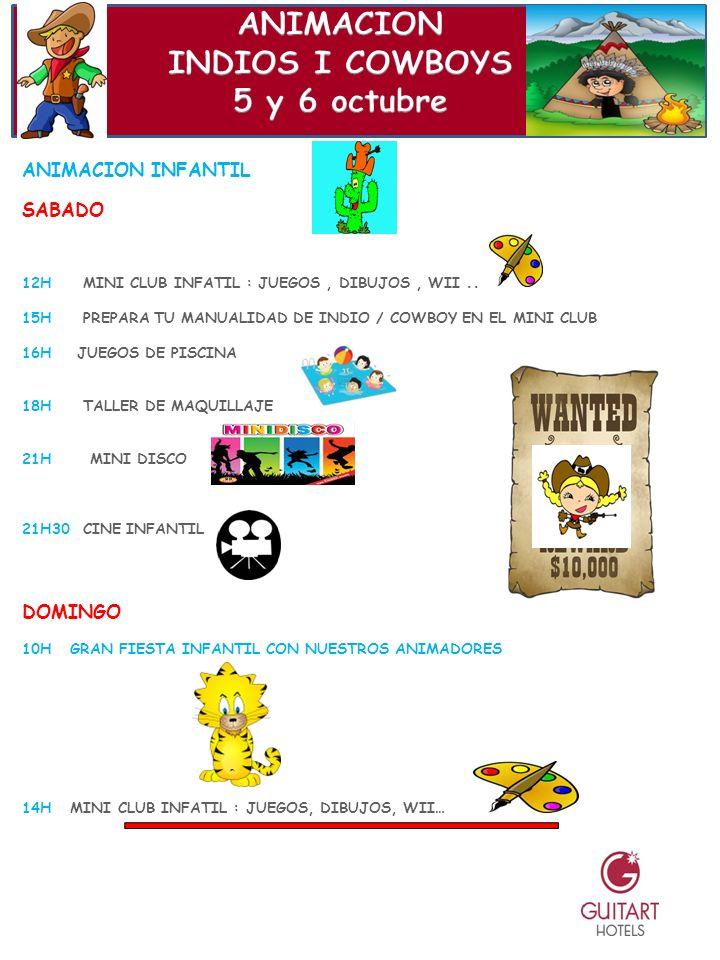 ANIMACION INFANTIL SABADO 12H MINI CLUB INFATIL : JUEGOS, DIBUJOS, WII..