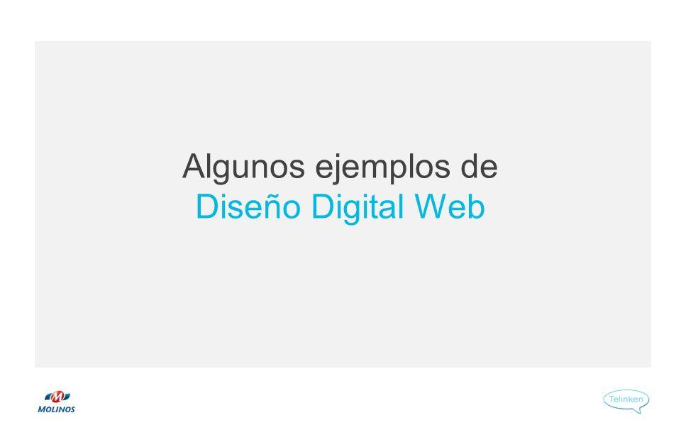Algunos ejemplos de Diseño Digital Web