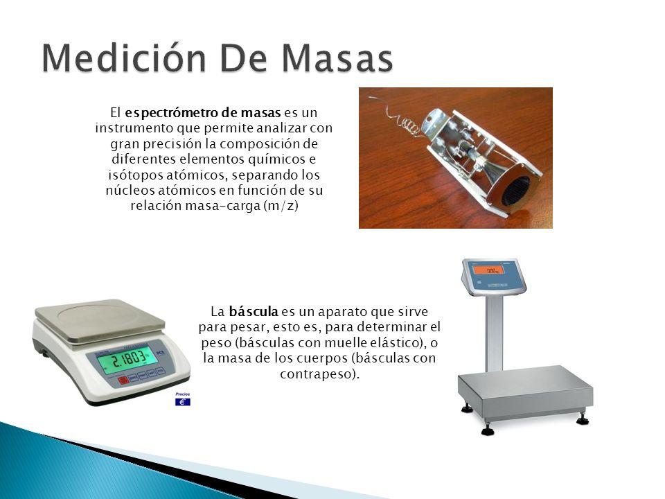 El espectrómetro de masas es un instrumento que permite analizar con gran precisión la composición de diferentes elementos químicos e isótopos atómico