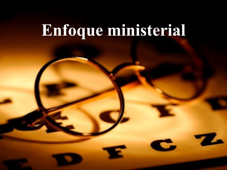 Enfoque ministerial