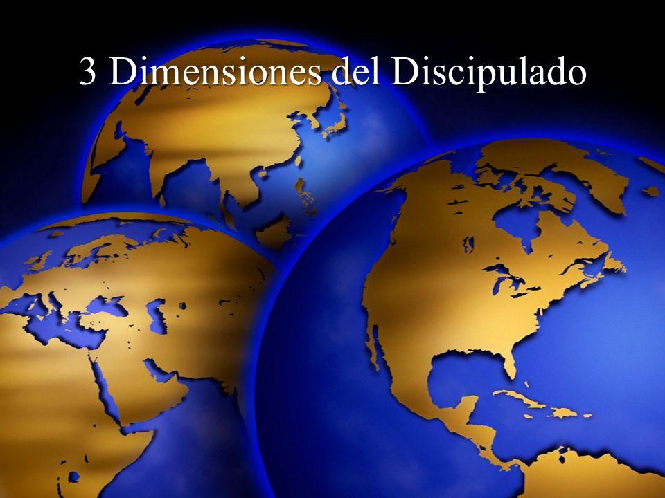 3 Dimensiones del Discipulado