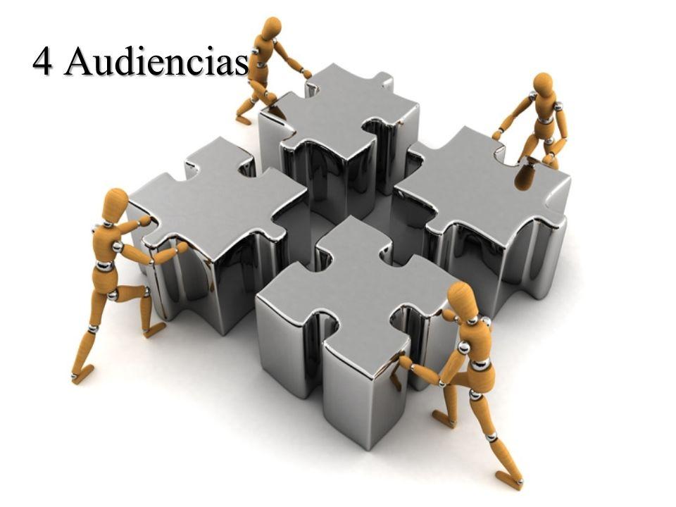 4 Audiencias