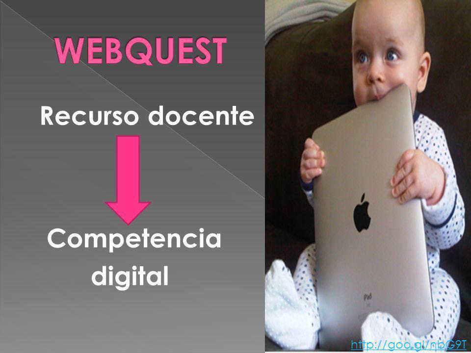 Recurso docente Competencia digital http://goo.gl/nbG9T