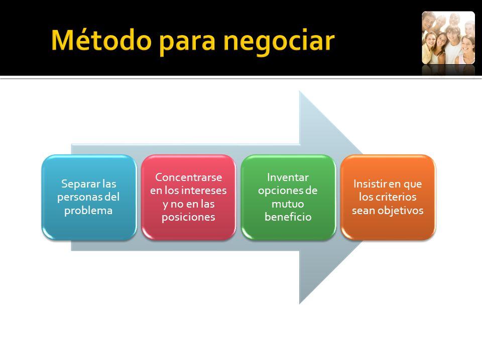 No se debe olvidar que la razón para negociar es obtener algo mejor de lo que se obtendría sin negociar.
