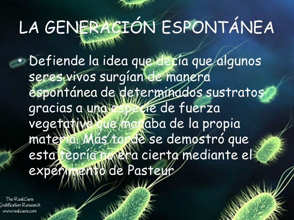LOS DEBATES SOBRE EL ORIGEN DE LA VIDA 1.La generación espontánea 2.La vida por evolución bioquímica 3.La panspermia
