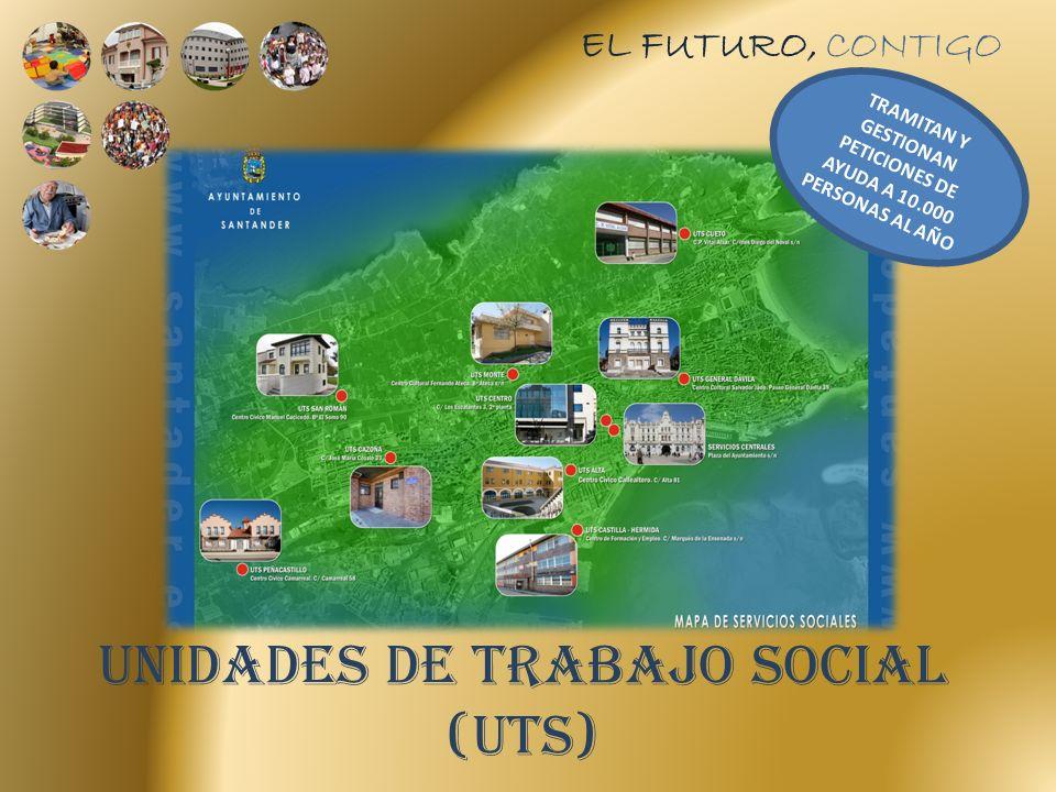 UNIDADES DE TRABAJO SOCIAL (UTS) EL FUTURO, CONTIGO TRAMITAN Y GESTIONAN PETICIONES DE AYUDA A 10.000 PERSONAS AL AÑO