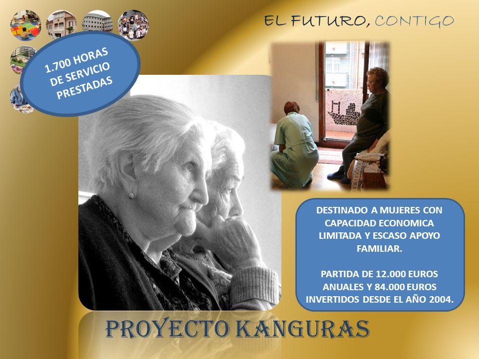 EL FUTURO, CONTIGO DESTINADO A MUJERES CON CAPACIDAD ECONOMICA LIMITADA Y ESCASO APOYO FAMILIAR.