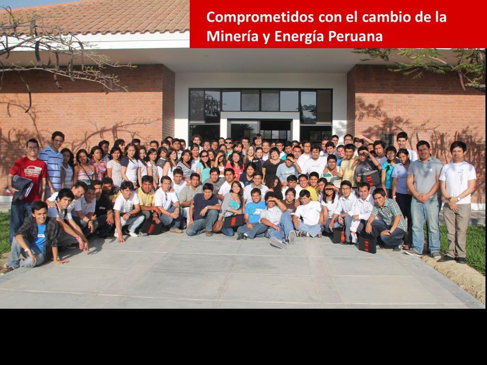 Couching mas de 30 univ nacionales Comprometidos con el cambio de la Minería y Energía Peruana