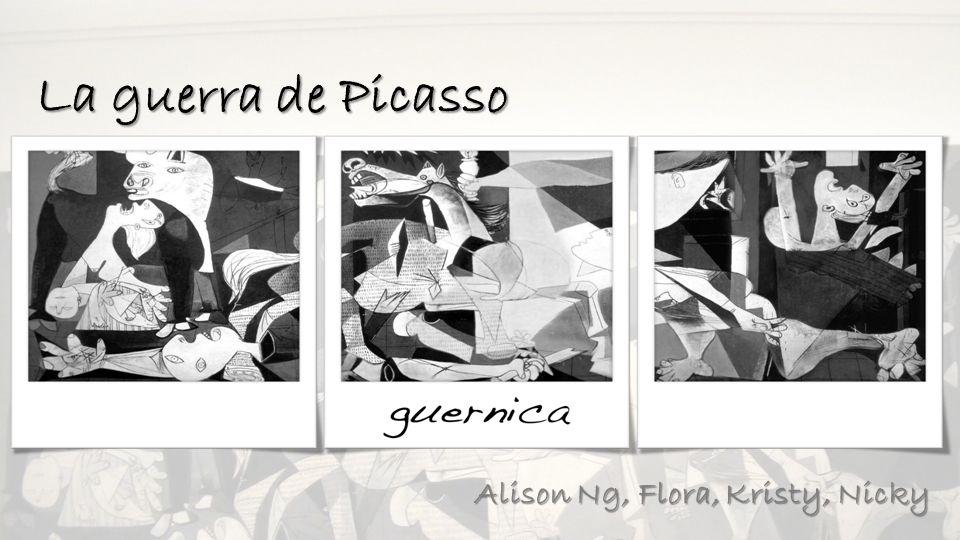 La guerra de Picasso Alison Ng, Flora, Kristy, Nicky