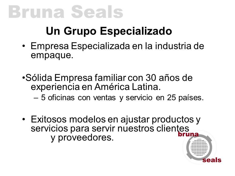 Un Grupo Especializado Empresa Especializada en la industria de empaque. Sólida Empresa familiar con 30 años de experiencia en América Latina. –5 ofic