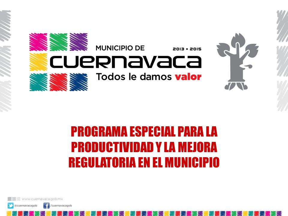 Unidades Económicas registradas en Cuernavaca (al 31 de Dic 2012) 115,980 Personal ocupado (2) (al 2009) Fuente: (1) Ayunt.