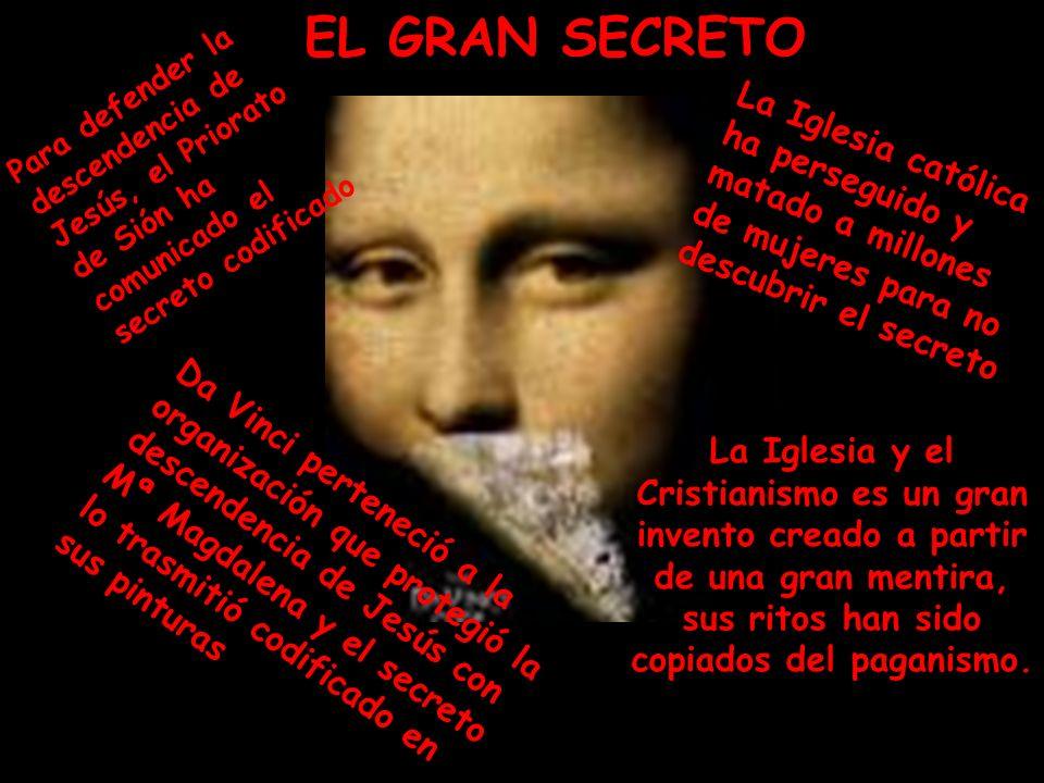 Da Vinci perteneció a la organización que protegió la descendencia de Jesús con Mª Magdalena y el secreto lo trasmitió codificado en sus pinturas La I