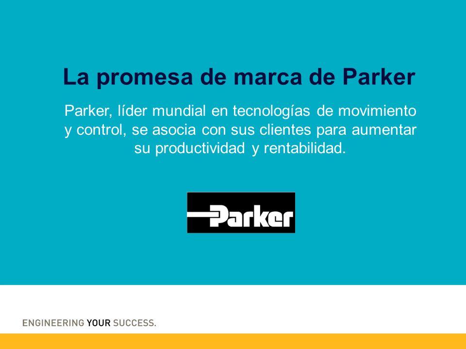 Parker, líder mundial en tecnologías de movimiento y control, se asocia con sus clientes para aumentar su productividad y rentabilidad. La promesa de