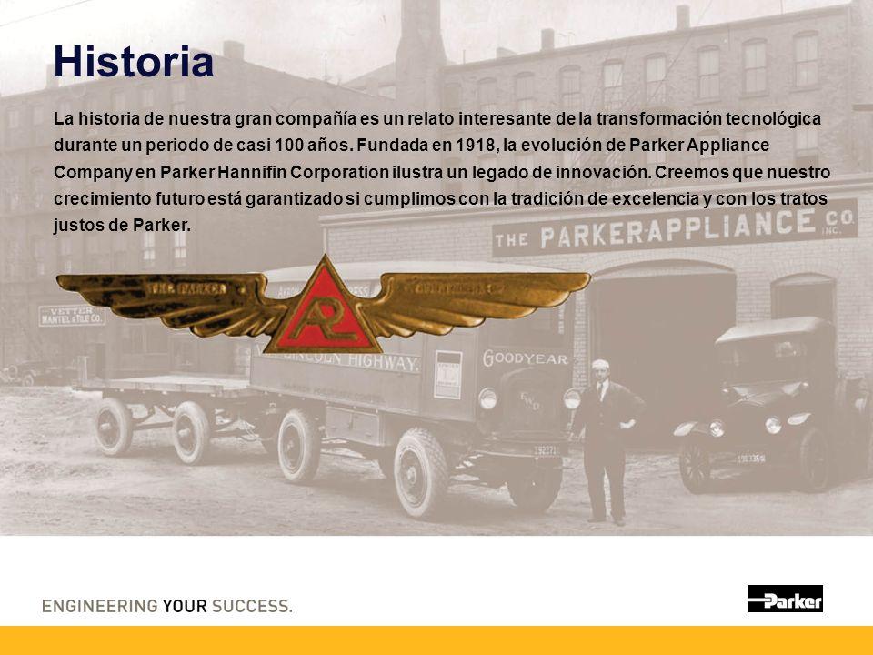 Historia La historia de nuestra gran compañía es un relato interesante de la transformación tecnológica durante un periodo de casi 100 años. Fundada e