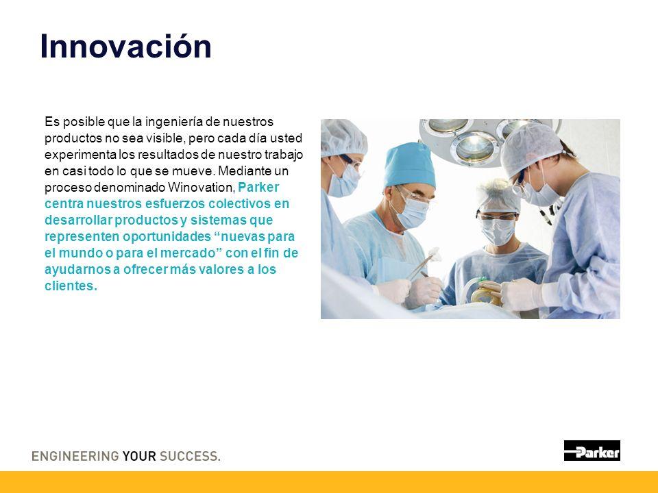 Innovación Es posible que la ingeniería de nuestros productos no sea visible, pero cada día usted experimenta los resultados de nuestro trabajo en cas