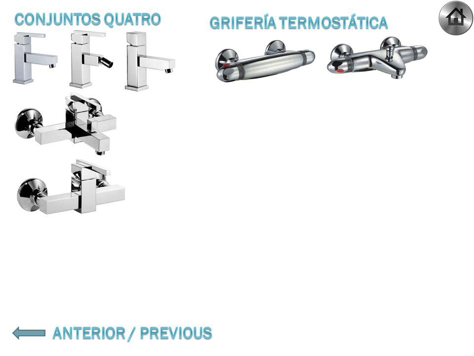 103303 Conjunto ducha MINI PROGRESSIVE Shower mixer MINI PROGRESSIVE Mélangeur douche MINI PROGRESSIF