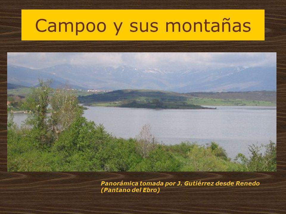 Campoo y sus montañas Panorámica tomada por J. Gutiérrez desde Renedo (Pantano del Ebro)