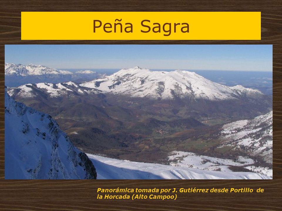 Peña Sagra Panorámica tomada por J. Gutiérrez desde Portillo de la Horcada (Alto Campoo)