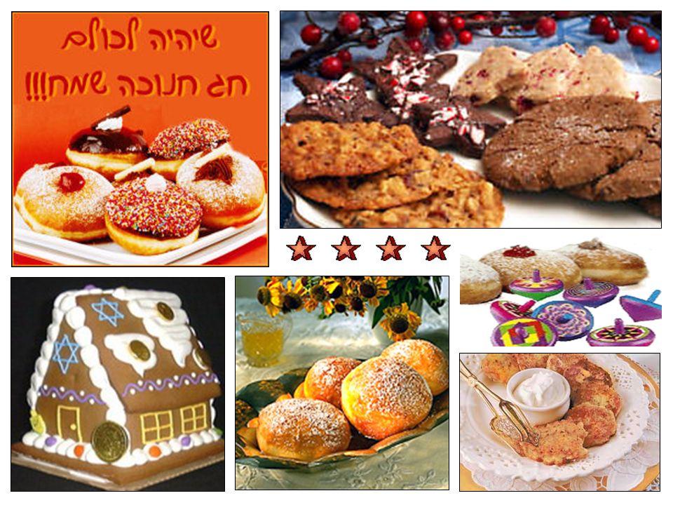 Los días de Hanukkah son alegres y festivos.