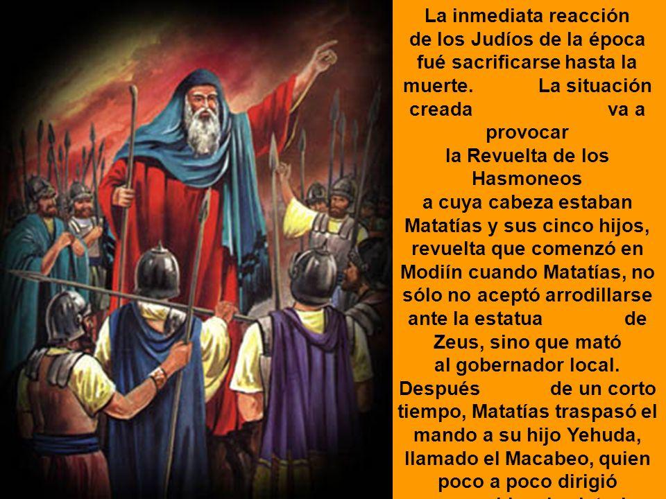 Cuando este visitó Jerusalém, la saqueó y deshonró su Templo.