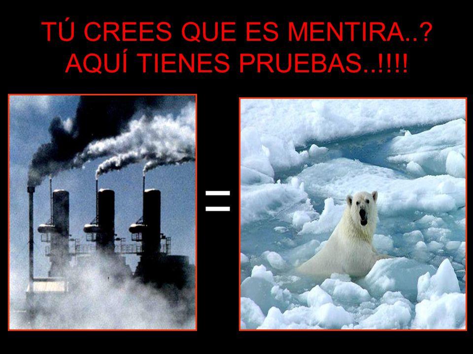 TÚ CREES QUE ES MENTIRA..? AQUÍ TIENES PRUEBAS..!!!!