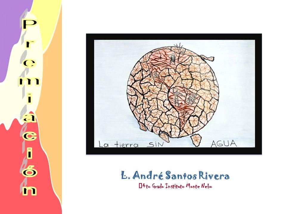 L. André Santos Rivera 4to Grado Instituto Monte Nebo