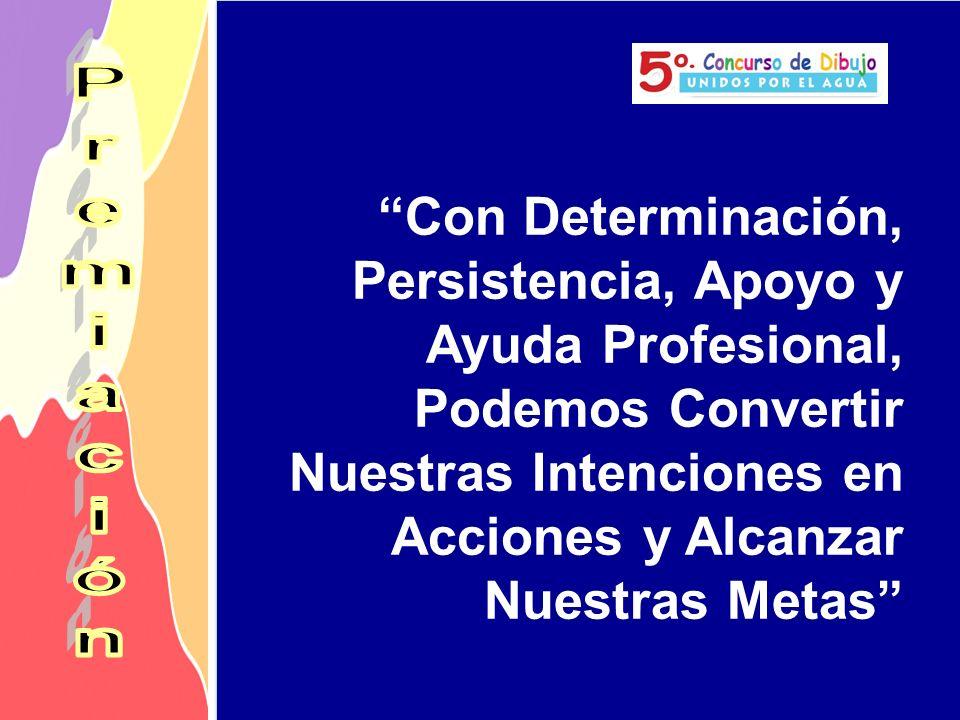 Con Determinación, Persistencia, Apoyo y Ayuda Profesional, Podemos Convertir Nuestras Intenciones en Acciones y Alcanzar Nuestras Metas