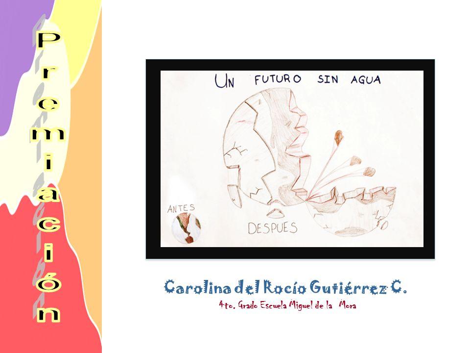 Carolina del Rocío Gutiérrez C. 4to. Grado Escuela Miguel de la Mora