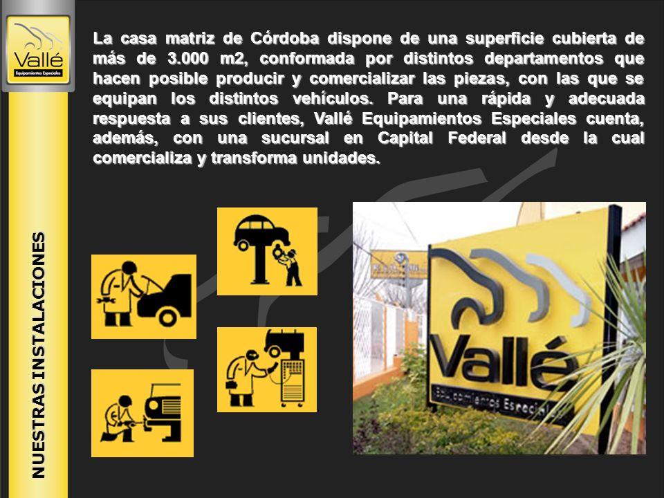 NUESTRAS INSTALACIONES La casa matriz de Córdoba dispone de una superficie cubierta de más de 3.000 m2, conformada por distintos departamentos que hac