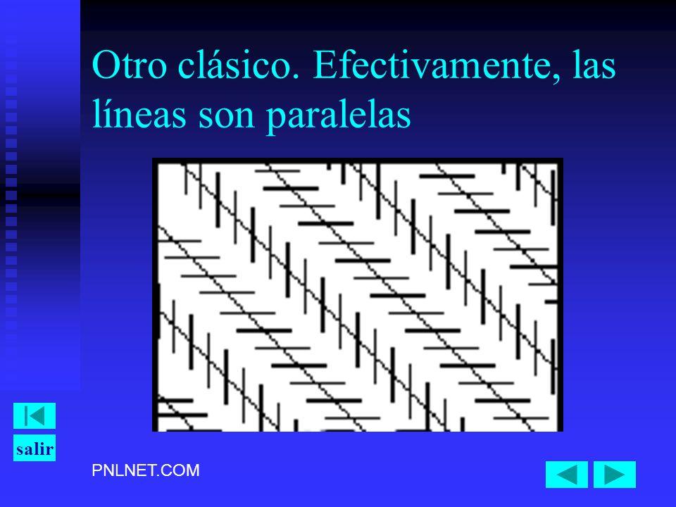 PNLNET.COM salir Otro clásico. Efectivamente, las líneas son paralelas