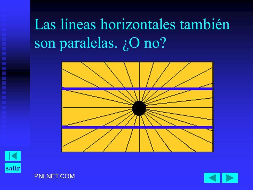 PNLNET.COM salir Las líneas horizontales también son paralelas. ¿O no?