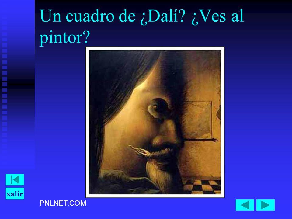 PNLNET.COM salir Un cuadro de ¿Dalí? ¿Ves al pintor?