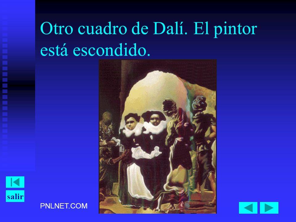 PNLNET.COM salir Otro cuadro de Dalí. El pintor está escondido.