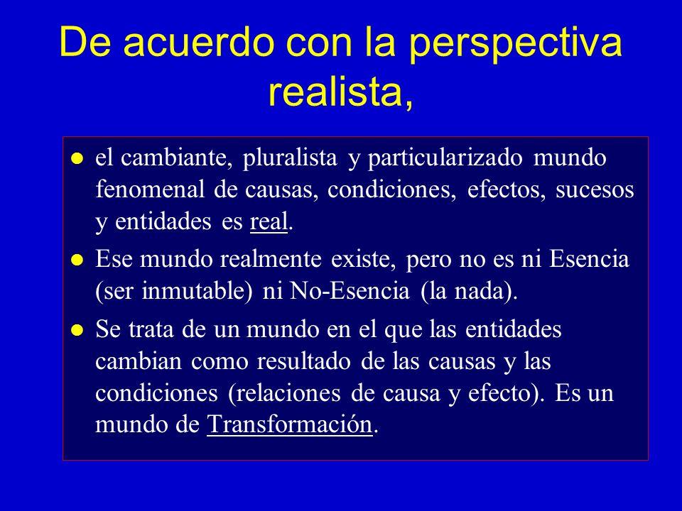 ¿Cuál es su posición ante el realismo metafísico.