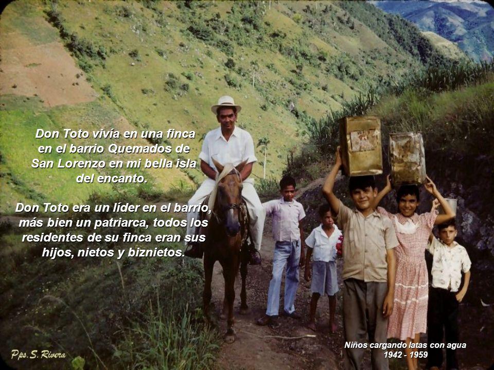Tienda rural 1942 - 1959 Ellos me enseñaron lo importante del amor y la amistad, el amor a la patria y a nuestra cultura.